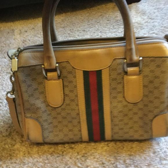 cda790207a705 Genuine Vintage 1980 Gucci Bag